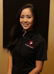 Headshot of dental hygienist Linh