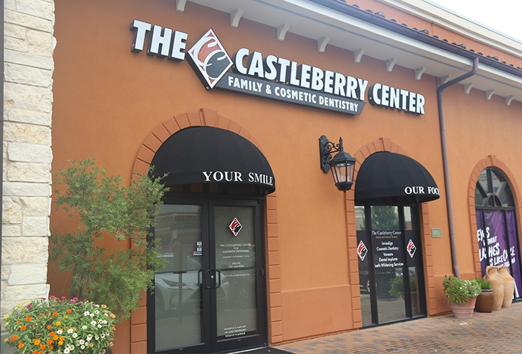 the castleberry center dental office