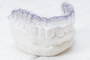 clear aligner and dental mold